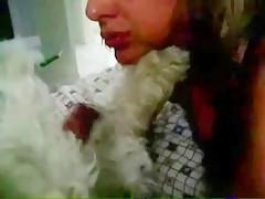 con la polla del perro